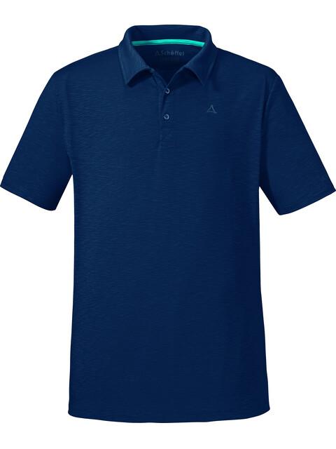 Schöffel Izmir Polo Shirt Men dress blues